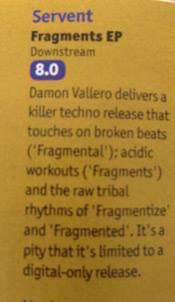 DJ Mag Servent Review