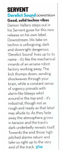 SERVENT_DSR28_REVIEW_MIXMAG_FEB2014